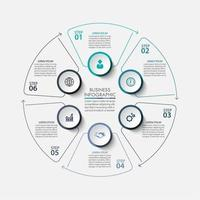 Circle Infographic Business Template