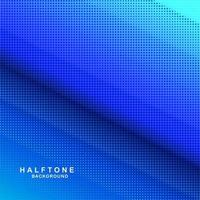Blue gradient halftone background