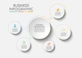 Business Circle Web Infografica