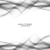 Elegant gray and white halftone wave background