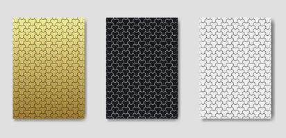 Collectie van naadloze patronen ontwerp