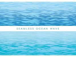 Set of seamless wave patterns.