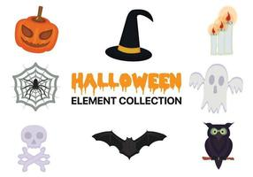Collection d'éléments d'Halloween