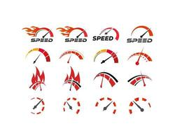 Speedometer logo set