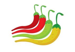 Set of 4 Chilies