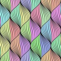 pastel braided seamless pattern