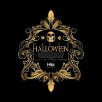 halloween luxury party
