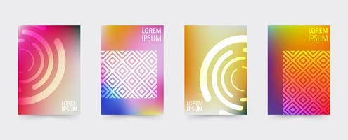 Gradient Geometric covers template set