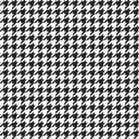 Houndstooth plaid pattern vector