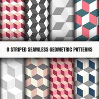 Set of geometric pattern
