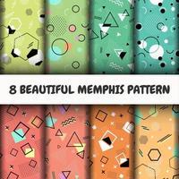 Set di modelli di Memphis senza soluzione di continuità
