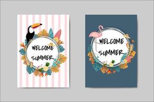 Bella scritta Summer Card