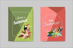 Biglietto postale bella Summer Card