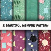 Set di modelli di Memphis
