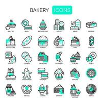 Boulangerie, Thin Line et Pixel Perfect Icons