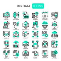 Big Data, Thin Line en Pixel Perfect Icons