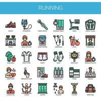 Running Elements, Thin Line et Pixel Perfect Icons