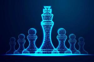 Leader success Chess Pieces