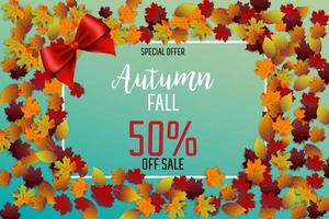 Autumn leaves sale festival