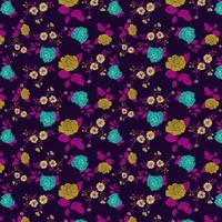 bright floral pattern