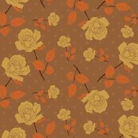 handgeschilderd bloemmotief