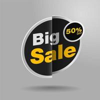Big sale sticker design