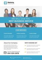 Blue Themed Corporate Nice Flyer Template
