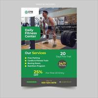 Gym Advertisement Flyer Design
