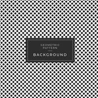 Abstract monochroom punt naadloos patroon