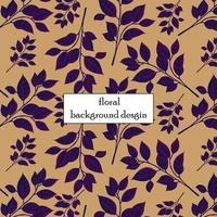 purple leaves pattern