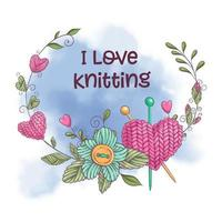 I love knitting design