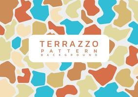 Terrazzo modern bright background