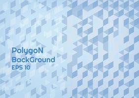 Polygon complex background  vector