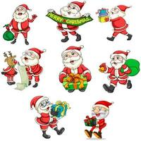 Papai Noel e suas renas