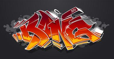 Bang Graffiti Vector Art