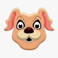 Dog cartoon vector art and illustration