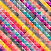 Colorful Mosaic Geometric Abstract Background. vector