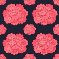 Botanisch naadloos patroon.