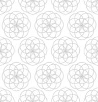 Overlapping circles seamless background