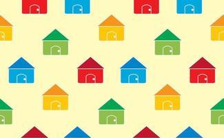 Casas sem costura de fundo