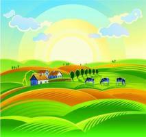 La granja de dibujos animados