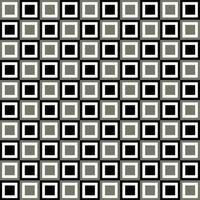 Padrão de grade quadrada preto e cinza