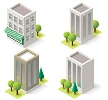 Isometric Corporate Buildings