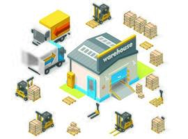 Isometric Warehouse Tools