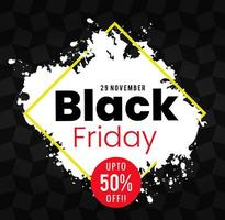 Black Friday flygblad