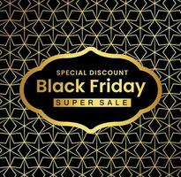 Black Friday Gold Flyer