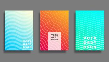Colorful gradient cover for flyer, poster, brochure, typography or other printing products vector
