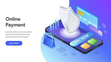 Landing page Online Payment