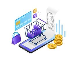 Online betaling met mobiele telefoon