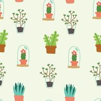 Flowers and Plants  Pattern